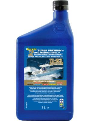 Super Premium 2-Tahti Perämoottoriöljy Suoraruiskutusmoottoreihin