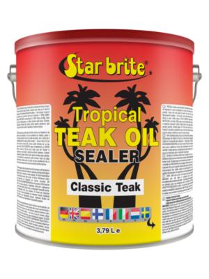 Teak tropikal-öljy/sealer värillinen
